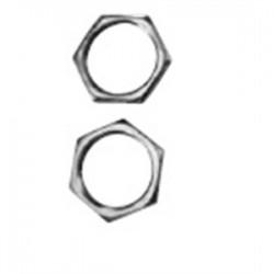 Appleton Electric - 075NPTLN5 - Appleton 075NPTLN5 Locknut, 3/4, Threaded, Nickel Plated Brass