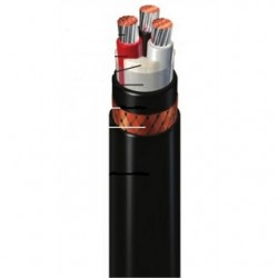 General Cable - 279260 - General Cable 279260 Flexible Power Cable, 6 AWG, 3 Cores, Armored & Sheathed
