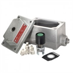 Eaton Electrical - EDS371 - Cooper Crouse-Hinds EDS371 Mounting Body, EDS TYPE, 1, 1-Gang, Dead-End, Malleable Iron