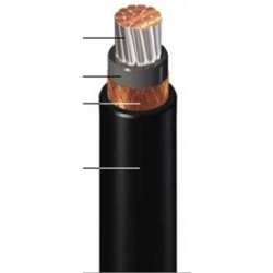General Cable - 279350 - General Cable 279350 Flexible Power Cable, 777 AWG, Armored & Sheathed, 2kv/1000V