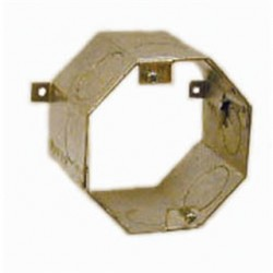 Hubbell - 277 - Hubbell-Raco 277 4 Concrete Ring, 3 Deep, 1 - 3/4 KOs, Steel