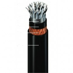 General Cable - 358270 - General Cable 358270 Flexible Signal Cable, 16 AWG, 8 Pair, Shielded, Armored, Sheathed