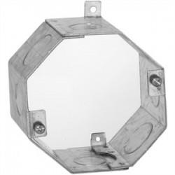 Hubbell - 271 - Hubbell-Raco 271 Concrete Ring, 2-1/2 Deep, 1/2 & 3/4 KOs, Metallic