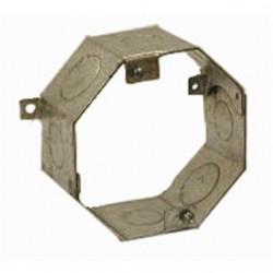 Hubbell - 270RAC - Hubbell-Raco 270RAC 4 Concrete Ring, Octagon, 2 Deep, 1/2 - 3/4 KOs, Steel