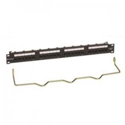 CommScope - CC0057596/1 - Commscope CC0057596/1 Patch Panel, Cat 6, 24 Port, 1 Unit Height, 19 Width, Uniprise