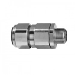 Appleton Electric - 40PX2KX1505 - Appleton 40PX2KX1505 Cable Gland, Size: 40, NPT: 1-1/2, Nickel Plated Brass