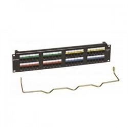 CommScope - CC0057604/1 - Commscope CC0057604/1 Patch Panel, Cat 6, 48 Port, 2 Unit Height, 19 Width, Uniprise