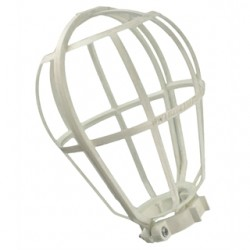 Leviton - 12200-W - Leviton 12200-W Lamp Guard, Wire Type, Plastic, White