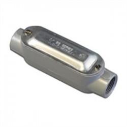 Appleton Electric - C-125ACGA - Appleton C-125ACGA Conduit Body with Cover/Gasket, Type C, Form 85, 1-1/4, Aluminum