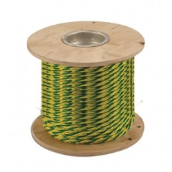 Greenlee / Textron - 417 - Greenlee 417 2430 lbs Poly Pro Pull Rope - Length: 250ft