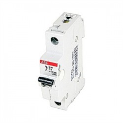 ABB - S201-D1 - ABB S201-D1 Mini Circuit Breaker 1 Pole D 1a 480y/277 Supp