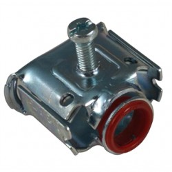 AFC Cable Systems - AFC-52 - AFC AFC-52 AC/Flex Connector, Screw, 1/2, Steel, Insulated, Duplex