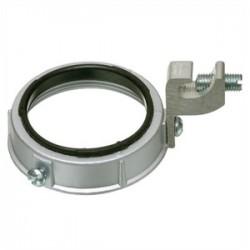 Appleton Electric - GIB-100LS-4AC - Appleton GIB-100LS-4AC Grounding Bushing, 1, Threadless, Insulated, Malleable Iron