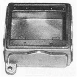 Appleton Electric - FDB-2GL - Appleton FDB-2GL FD Device Box, 2-Gang, Dead-End, Type FD, 3/4, Malleable