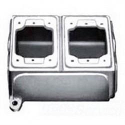 Appleton Electric - FDB-2L-A - Appleton FDB-2L-A FD Device Box, 2-Gang, Type FD, 3/4 Inch, Aluminum