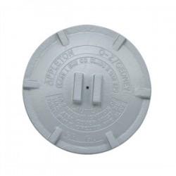 Appleton Electric - GRK-3 - Appleton GRK-3 Conduit Outlet Box Cover, Diameter: 4.88, Aluminum