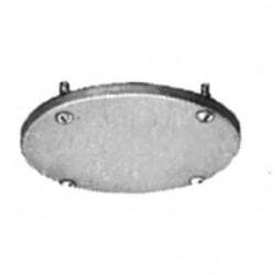 Appleton Electric - JBK-1B-CA - Appleton JBK-1B-CA Conduit Outlet Box Cover, JB Series, Blank, Aluminum