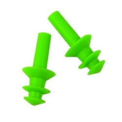 Lift Safety - ACG-7G6 - Lift Safety ACG-7G6 Flange Ear Plugs - Green, 6 Pair per Box