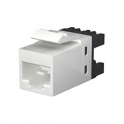 CommScope - 13750552 - Commscope 13750552 Snap In Connector, RJ45, Cat 6, 8P8C, SL110, Black