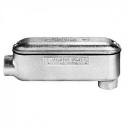 Appleton Electric - BLB200-M - Appleton BLB200-M Conduit Body, Type: Mogul LB, Size: 2, Material: Malleable Iron