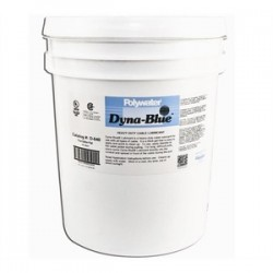 Polywater - D640 - American Polywater D640 Dyna-Blue Heavy Duty Cable Pulling Lubricant - 5 Gallon Pail