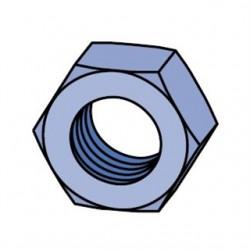 Atkore - HHXN037-EG - Unistrut HHXN037-EG Hex Nut, Steel, Electro-Galvanized, 3/8