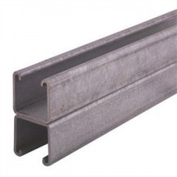 Atkore - P1001-10HG - Unistrut P1001-10HG Channel - Back To Back, Steel, Hot-Dipped Galvanized, 1-5/8 x 3-1/4 x 10'