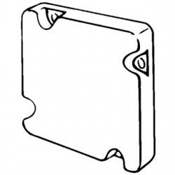 Appleton Electric - 8495 - Appleton 8495 4-11/16 Square Cover, Blank