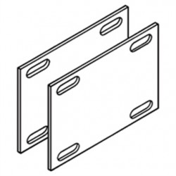 Eaton Electrical - 9A-1016 - Cooper B-Line 9A-1016 Expansion Splice Plates, for 5 NEMA / 6 Height Tray, Aluminum, Pair