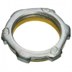 Appleton Electric - BLSG200 - Appleton BLSG200 Sealing Locknut, 2, PVC Gasketed, Steel/Zinc