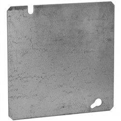 Hubbell - 832 - Raco 832 - 4-11/16 Square Box Cover, Flat Blank - Steel