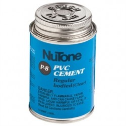 Broan-NuTone - 379 - Nutone 379 Central Vacuum Solvent Cement, Clear