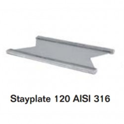 Roxtec - ASP0001200021 - Roxtec ASP0001200021 Stayplate, 120 mm, AISI 316, Stainless Steel