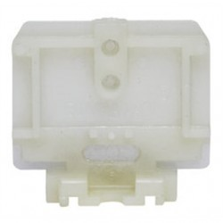 IDEAL Electrical / IDEAL Industries - 250 - Ideal 250 Din Rail End Section, Nylon, Heavy Duty, Flat Base, Bag of 25