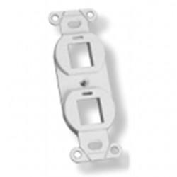 TE Connectivity - 11166183 - Tyco Electronics 11166183 Mounting Strap Kit, 2-Port, White
