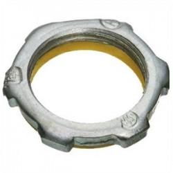 Appleton Electric - BLSG150 - Appleton BLSG150 Sealing Locknut, 1-1/2, PVC Gasketed, Steel/Zinc