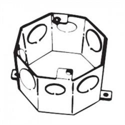 Thomas & Betts - 54541 1/2 3/4 - Steel City 54541 1/2 3/4 4 Octagon Concrete Box, 2-1/2 Deep, Drawn, 1/2 - 3/4 KOs, Steel