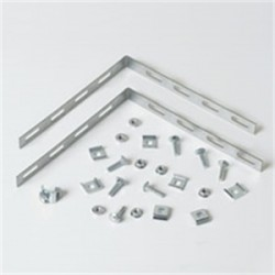 Eaton Electrical - 90DEGREEKIT - Cooper B-Line 90DEGREEKIT 90 Splice Bar & Hardware, Flextray