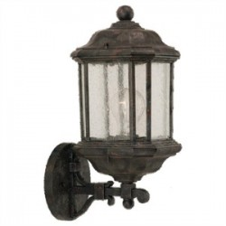 Sea Gull Lighting - 84032-746 - Sea Gull 84032-746 1l Wall Lantern Oxford Bronze