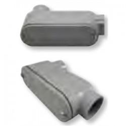 BizLine - 350LB - Bizline 350LB Conduit Body, Type LB, Size 3-1/2, Cover/Gasket, PVC