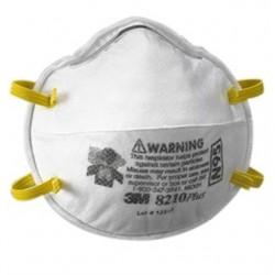 3M - 8210-RESPIRATOR - UPC 50-051138-46457-3 Particulate Respirator 8210, N95 160/Case