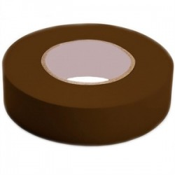 3M - 1400C-BROWN-3/4X60FT - 3M 1400C-BROWN-3/4X60FT Economy Grade Electrical Tape, Vinyl, Brown, 3/4 x 66'