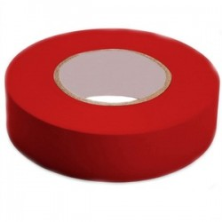 3M - 1400C RED - 3M 1400C RED Economy Grade Electrical Tape, Vinyl, Red, 3/4 x 66'