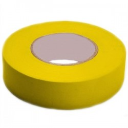 3M - 1400C YELLOW - 3M 1400C YELLOW Economy Grade Electrical Tape, Vinyl, Yellow, 3/4 x 66'