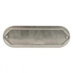 Mulberry Metal - 11710 - Mulberry Metal 11710 1/2 Blank Conduit Fitting Cover, Aluminum