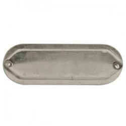 Mulberry Metal - 11713 - Mulberry Metal 11713 1-1/4 to 1-1/2, Blank Conduit Fitting Cover, Aluminum