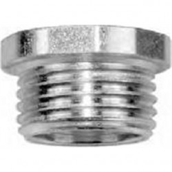 American Fittings - CN50 - American Fittings Corp CN50 Chase Nipple, Size: 1/2, Material/Finish: Steel/Zinc