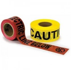 3M - 368 - 3M 368 Caution Buried Electric Line Below Barricade Tape, 6 x 1000'