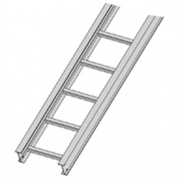 Eaton Electrical - 34A0918144 - Cooper B-Line 34A0918144 Cable Tray, Ladder Type, Aluminum, 9 Rung Spacing, 18 Wide, 12' Long