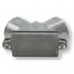 BizLine - 050PE - Bizline 050PE PVC Pulling Elbow with Cover, 1/2